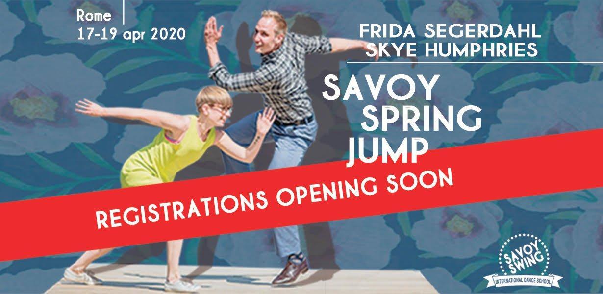 registration opening soon savoy spring jump