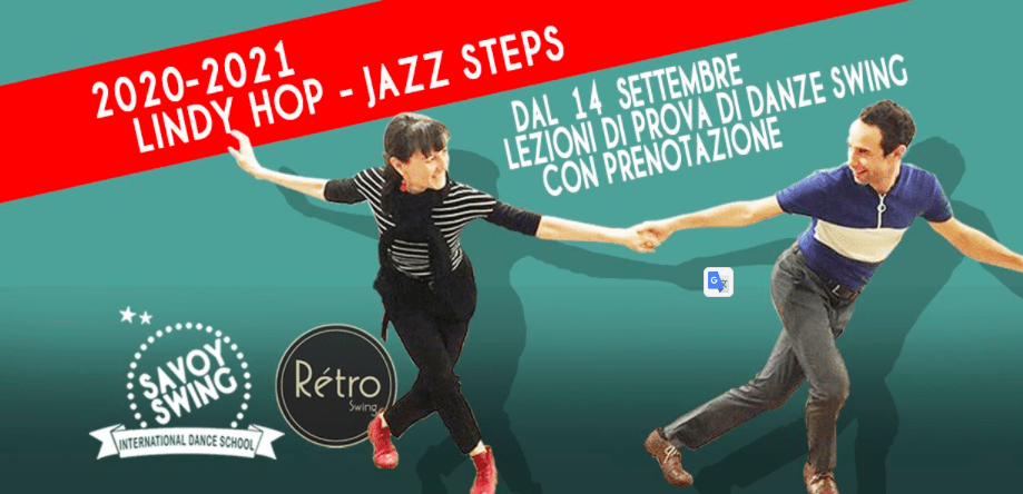 SWING DANCE a ROMA 14 SET ALLE ORE 19:30 - 21 SET ALLE ORE 22:30